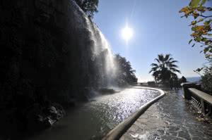 Wasserfall auf dem Weg zur Zitadelle
