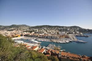 Der Yachthafen in Nizza