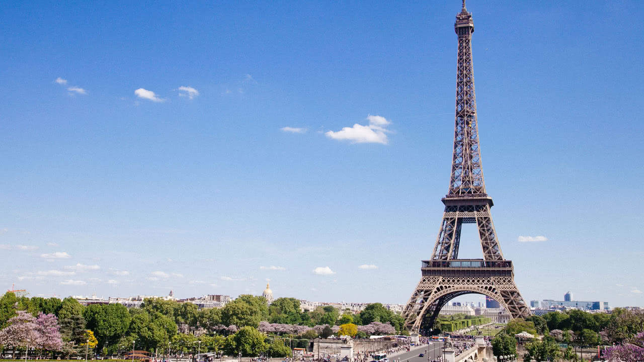 Der Pariser Eiffelturm