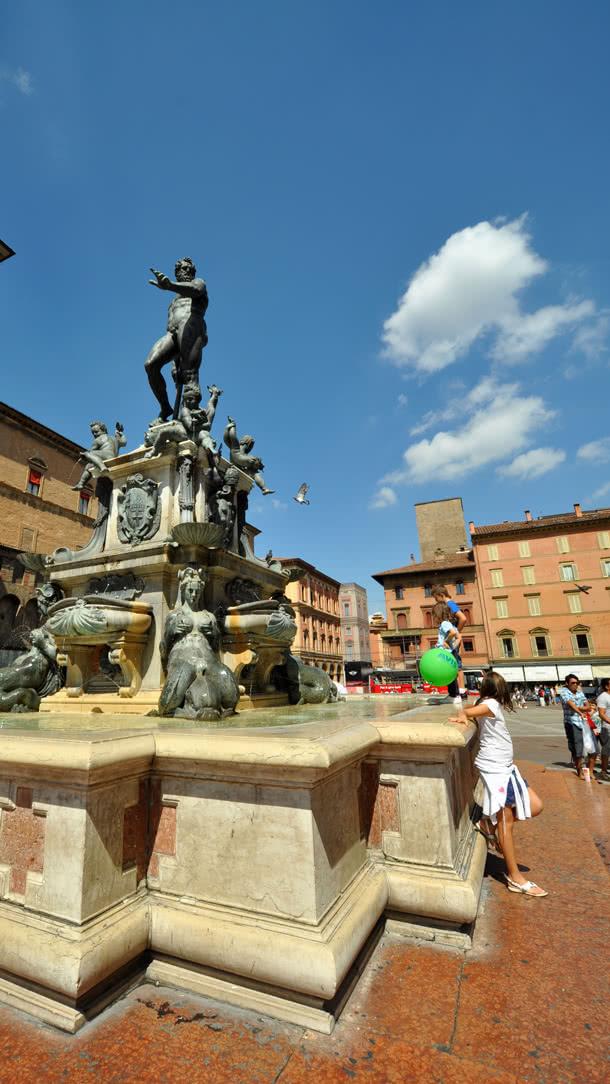 Neptunbrunnen in Bologna