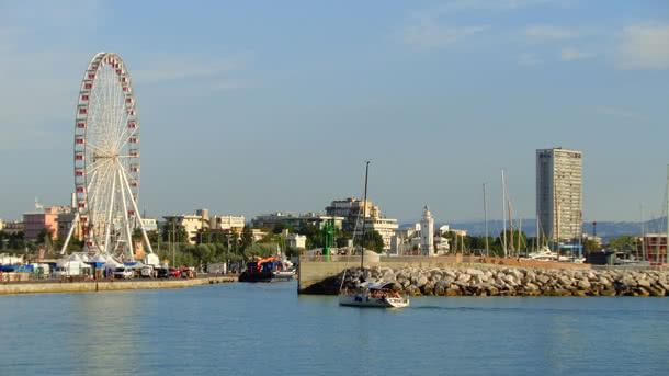 Hafen von Rimini