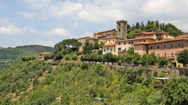 Montecatini Alto - historische Bergstadt