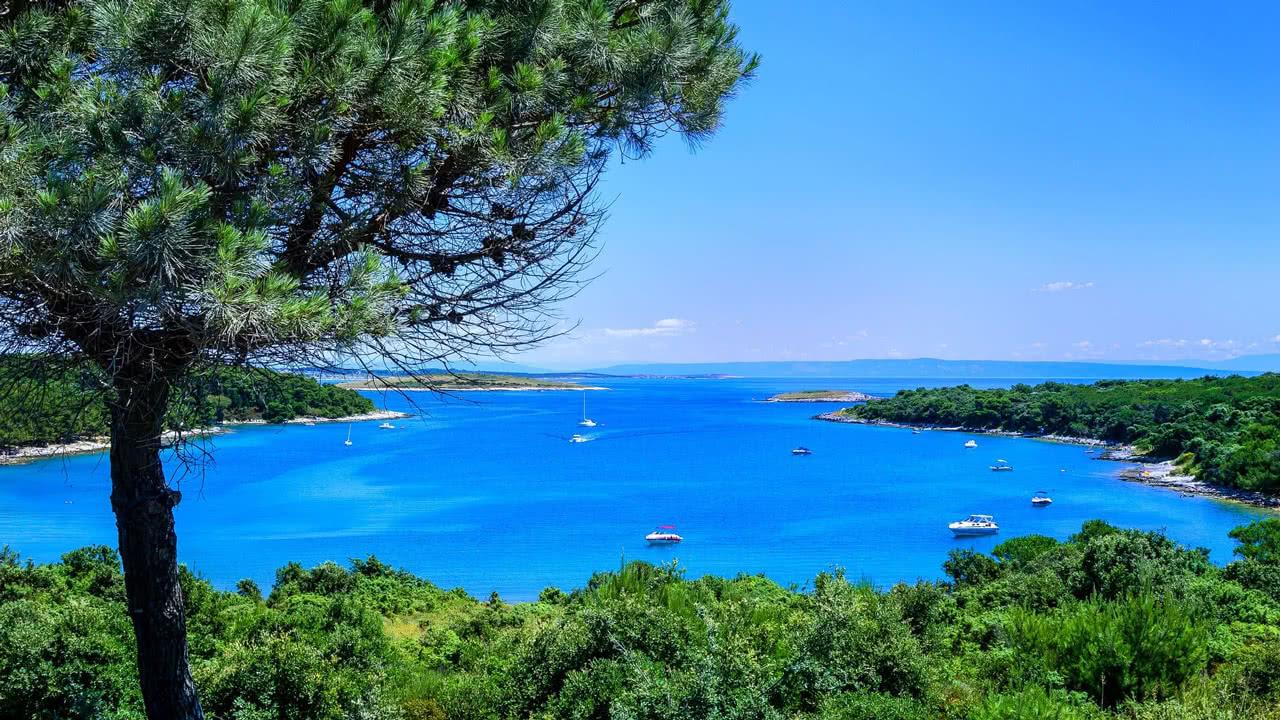 Bucht in Istrien