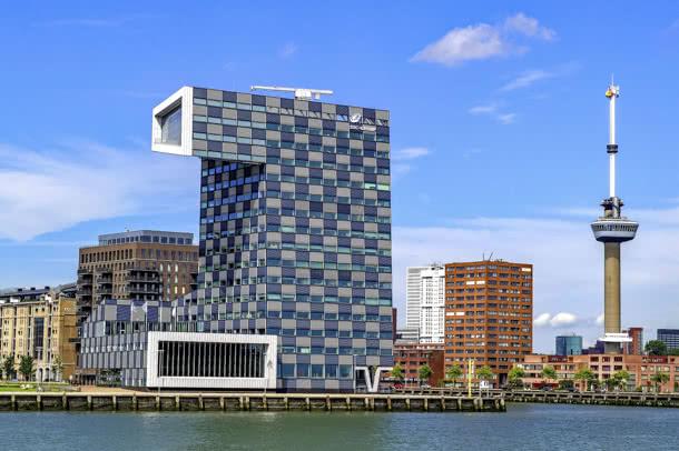 STC-Gebäude und Euromast Rotterdam