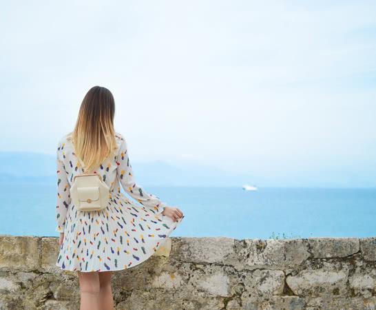 Blick auf die Adria