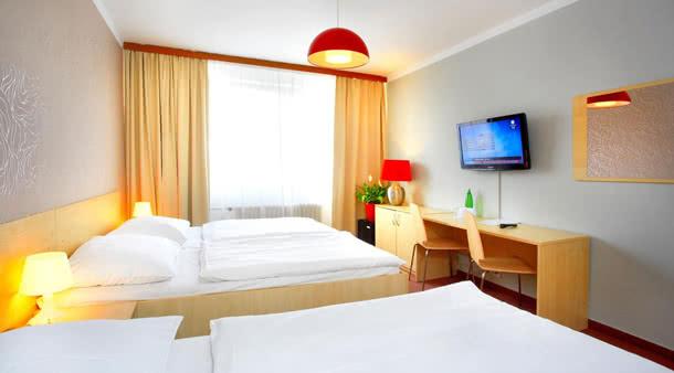 Zimmerbeispiel Hotel Charles Central
