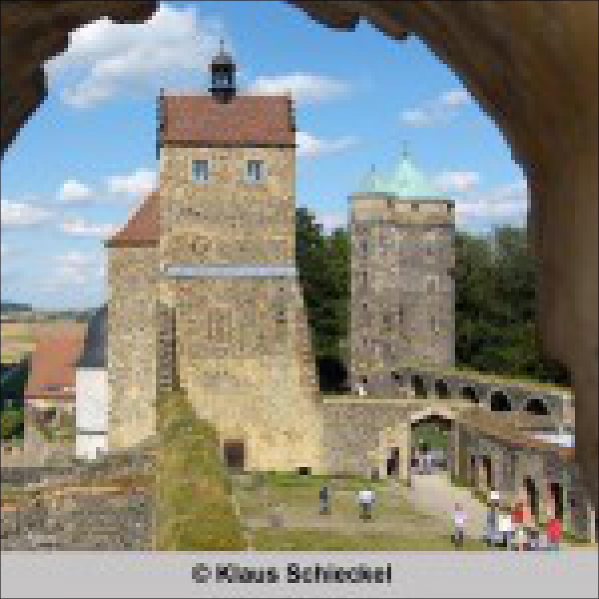 Großansicht innen von Klaus Schieckel - rechts der Johannisturm - das Gefängnis der Gräfin Cosel