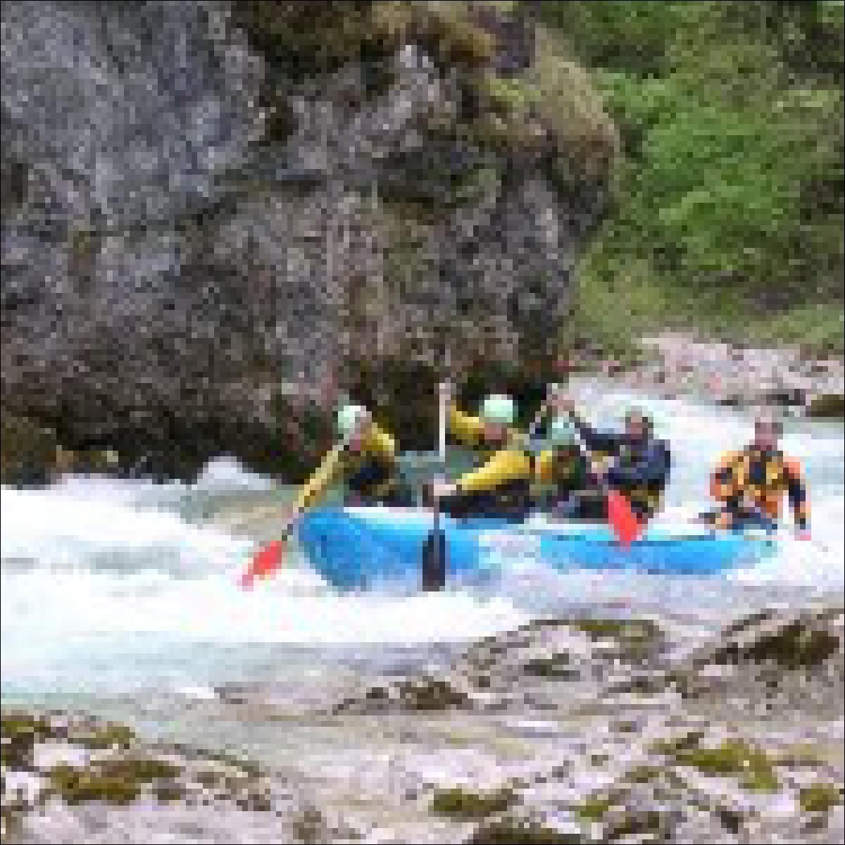 Rafting im Riesengebirge - eine der unzähligen Möglichkeiten
