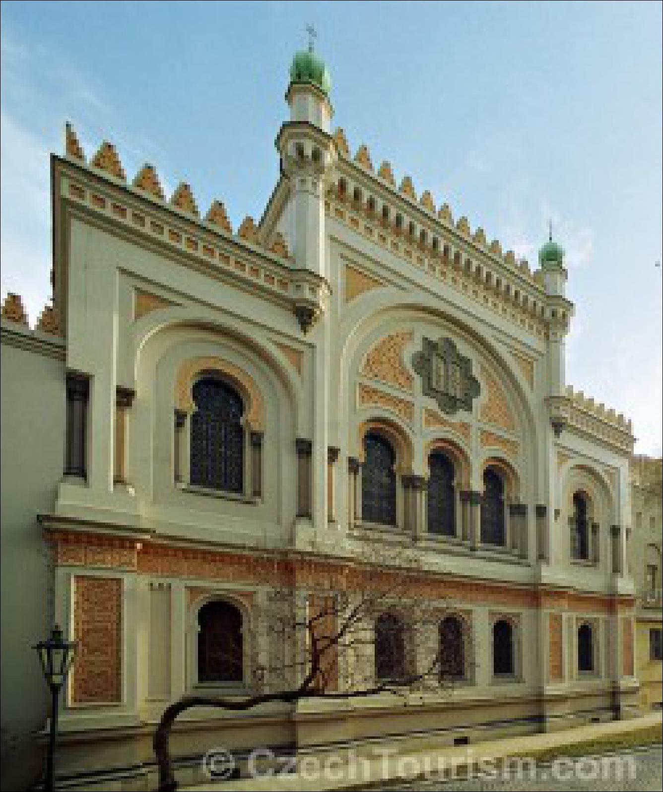 Die spanische Synagoge in Prag © CzechTourism.com
