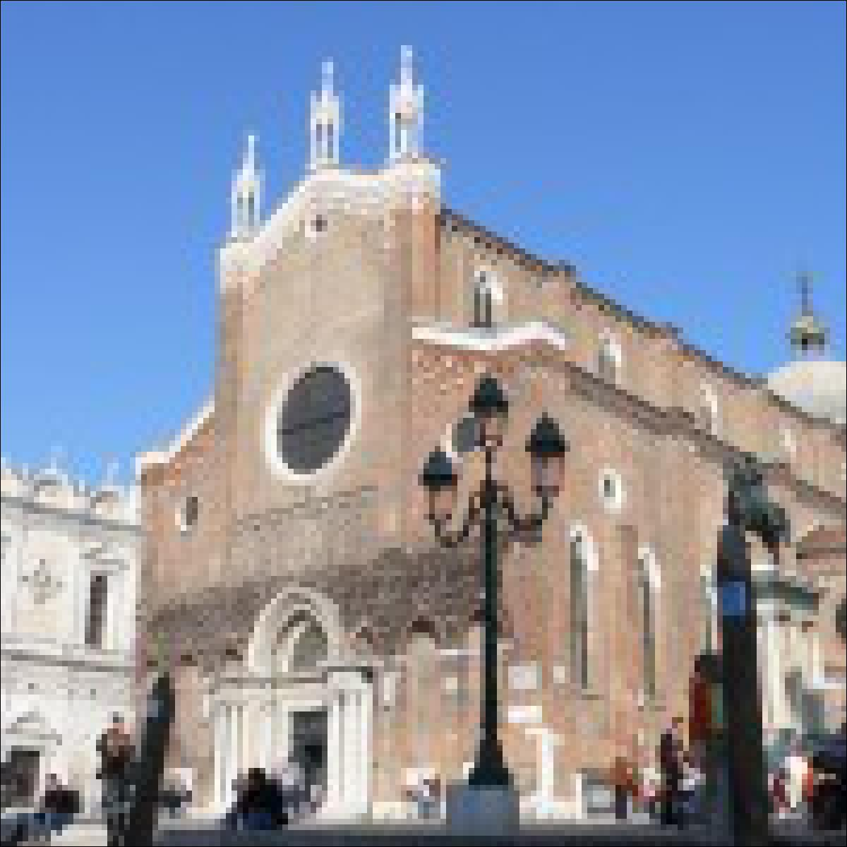 Die Kirche Santa Maria Gloriosa dei Frari
