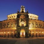 Die Semperoper in Dresden
