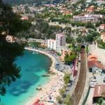 Strand in der Nähe von Nizza