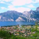 Blick auf die sardischen Berge