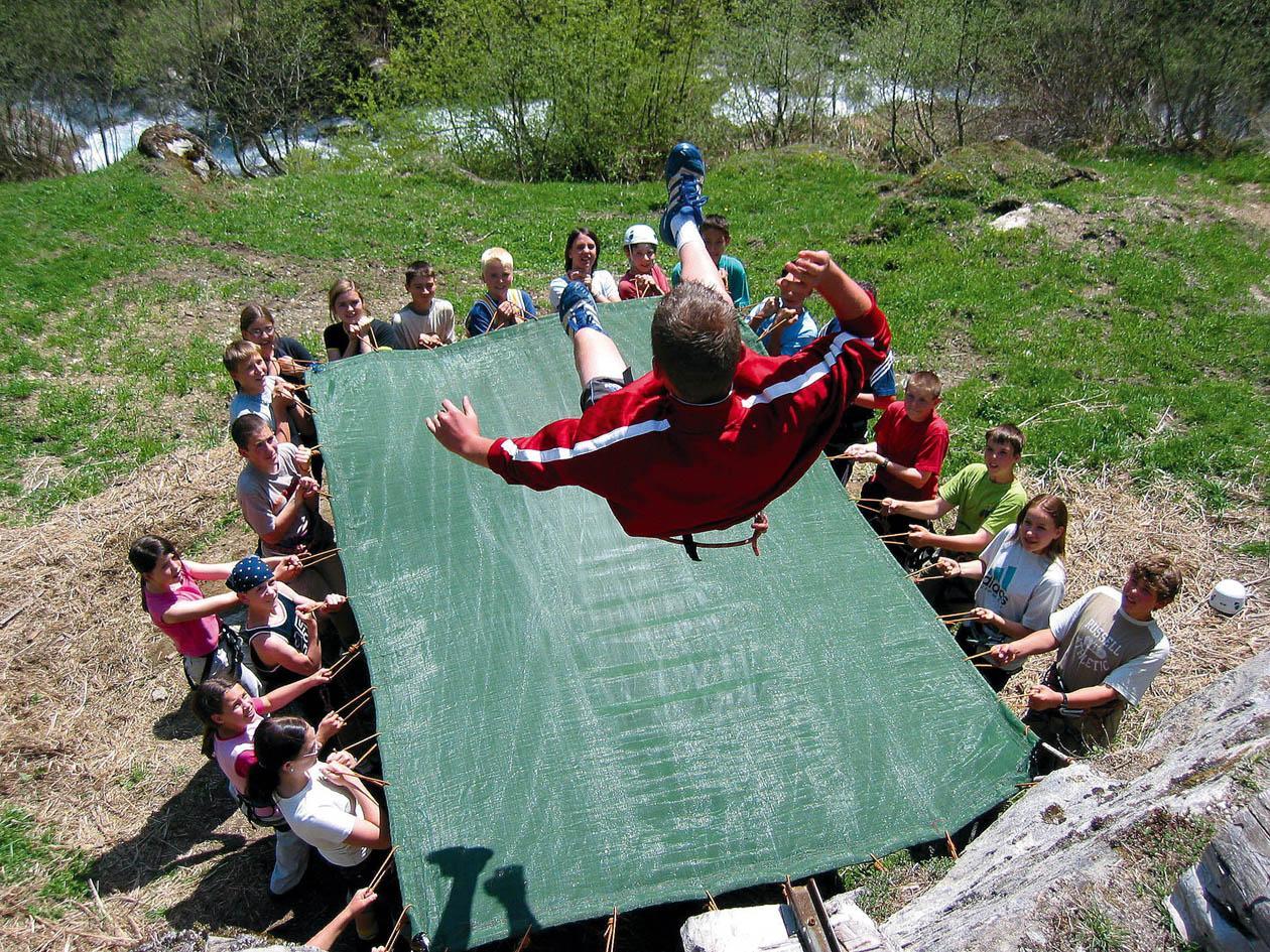 Klassenfahrt Südtirol - Sportprogramm