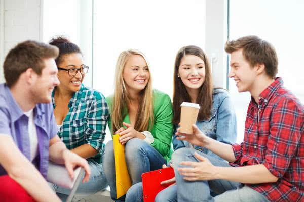 Schulkinder auf Klassenfahrt