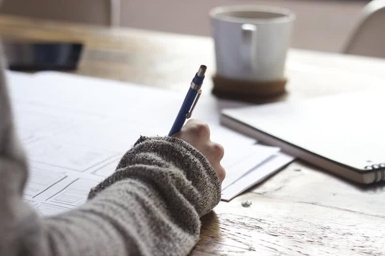 Formular für Klassenfahrt ausfüllen