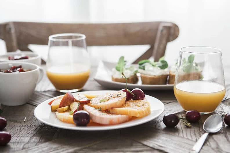 gesundes Frühstück auf Klassenfahrt