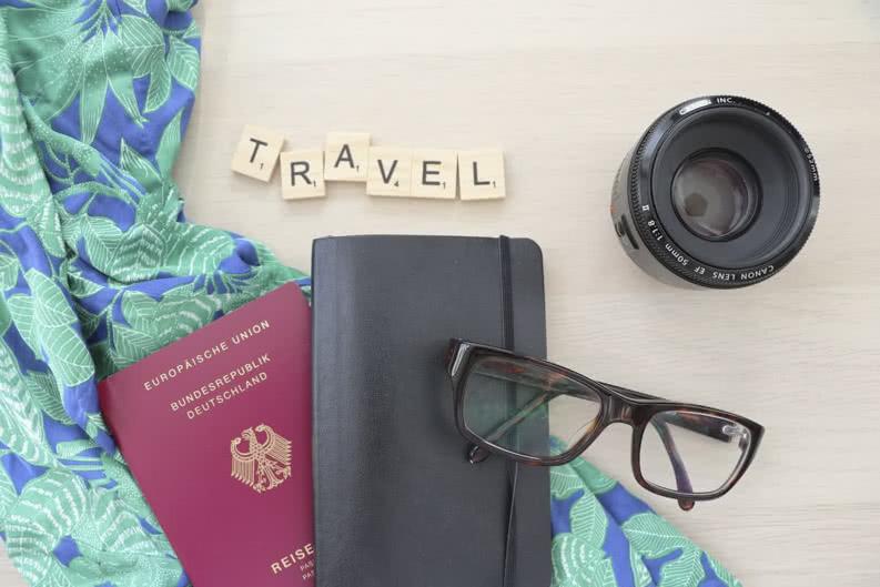exemplarisches Reisegepäckt für Klassenfahrten