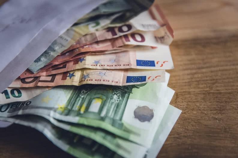 Geld für die Klassenfahrt