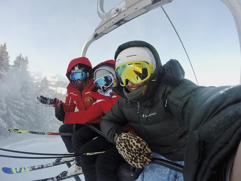 Skilager mit der Schulklasse