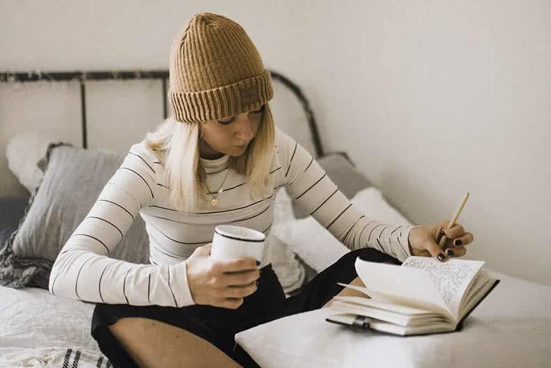 Tagebuch schreiben auf Klassenfahrt